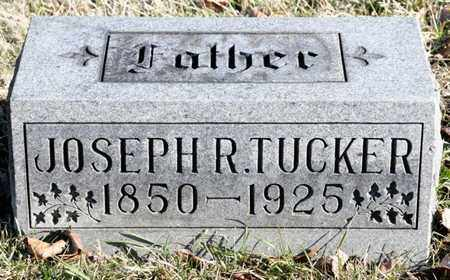 TUCKER, JOSEPH R - Richland County, Ohio | JOSEPH R TUCKER - Ohio Gravestone Photos