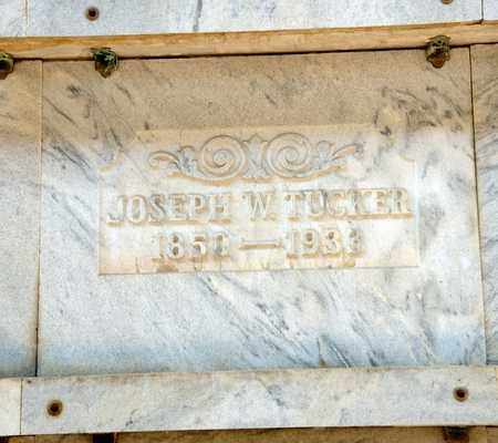 TUCKER, JOSEPH W - Richland County, Ohio | JOSEPH W TUCKER - Ohio Gravestone Photos