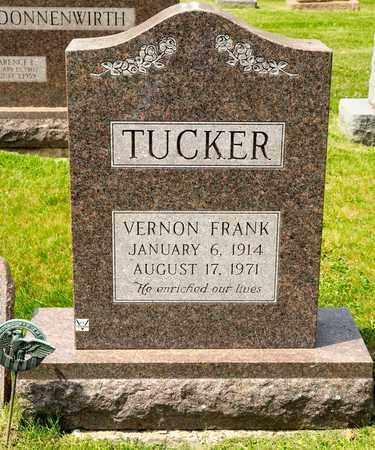 TUCKER, VERNON FRANK - Richland County, Ohio | VERNON FRANK TUCKER - Ohio Gravestone Photos