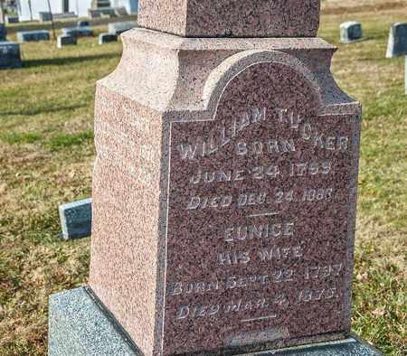 TUCKER, WILLIAM - Richland County, Ohio | WILLIAM TUCKER - Ohio Gravestone Photos