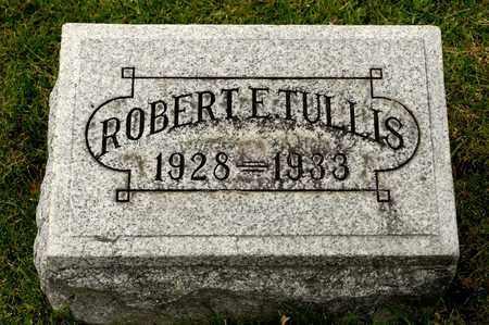 TULLIS, ROBERT E - Richland County, Ohio   ROBERT E TULLIS - Ohio Gravestone Photos
