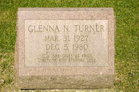 TURNER, GLENNA N - Richland County, Ohio | GLENNA N TURNER - Ohio Gravestone Photos