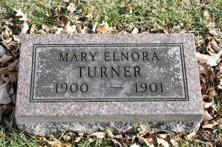 TURNER, MARY ELNORA - Richland County, Ohio | MARY ELNORA TURNER - Ohio Gravestone Photos