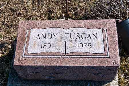 TUSCAN, ANDY - Richland County, Ohio | ANDY TUSCAN - Ohio Gravestone Photos