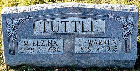 TUTTLE, M ELZINA - Richland County, Ohio | M ELZINA TUTTLE - Ohio Gravestone Photos