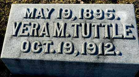 TUTTLE, VERA M - Richland County, Ohio | VERA M TUTTLE - Ohio Gravestone Photos