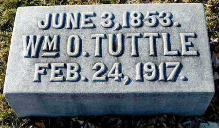TUTTLE, WILLIAM O - Richland County, Ohio | WILLIAM O TUTTLE - Ohio Gravestone Photos