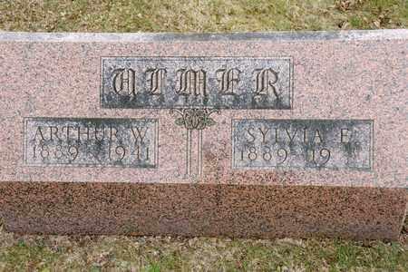 ULMER, SYLVIA E - Richland County, Ohio | SYLVIA E ULMER - Ohio Gravestone Photos