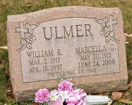 ULMER, WILLIAM R - Richland County, Ohio | WILLIAM R ULMER - Ohio Gravestone Photos