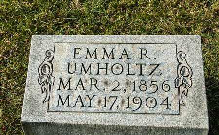 UMHOLTZ, EMMA R - Richland County, Ohio | EMMA R UMHOLTZ - Ohio Gravestone Photos