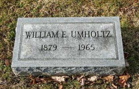 UMHOLTZ, WILLIAM E - Richland County, Ohio | WILLIAM E UMHOLTZ - Ohio Gravestone Photos