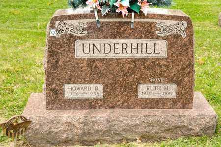 UNDERHILL, HOWARD D - Richland County, Ohio | HOWARD D UNDERHILL - Ohio Gravestone Photos