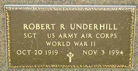 UNDERHILL, ROBERT R - Richland County, Ohio | ROBERT R UNDERHILL - Ohio Gravestone Photos