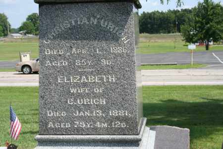 URICH, ELIZABETH - Richland County, Ohio | ELIZABETH URICH - Ohio Gravestone Photos