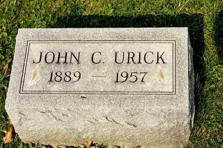 URICK, JOHN C - Richland County, Ohio | JOHN C URICK - Ohio Gravestone Photos