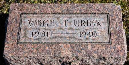 URICK, VIRGIL T - Richland County, Ohio | VIRGIL T URICK - Ohio Gravestone Photos