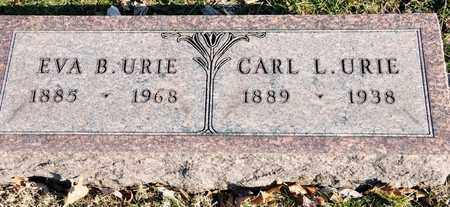 URIE, CARL L - Richland County, Ohio | CARL L URIE - Ohio Gravestone Photos