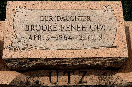 UTZ, BROOKE RENEE - Richland County, Ohio | BROOKE RENEE UTZ - Ohio Gravestone Photos