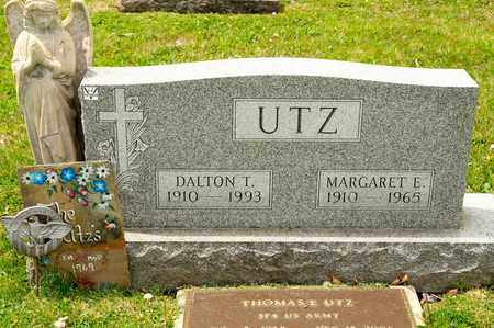UTZ, MARGARET E - Richland County, Ohio | MARGARET E UTZ - Ohio Gravestone Photos