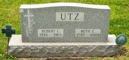 UTZ, RUTH C - Richland County, Ohio | RUTH C UTZ - Ohio Gravestone Photos