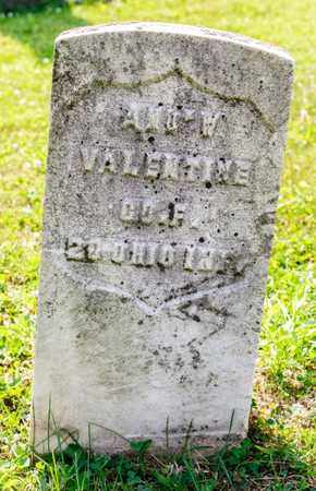 VALENTINE, ANDREW - Richland County, Ohio | ANDREW VALENTINE - Ohio Gravestone Photos