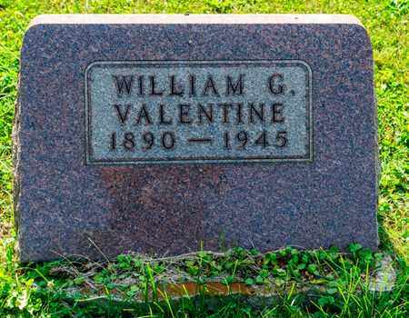 VALENTINE, WILLIAM G - Richland County, Ohio | WILLIAM G VALENTINE - Ohio Gravestone Photos