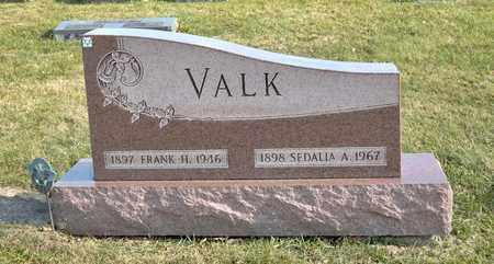 VALK, FRANK H - Richland County, Ohio | FRANK H VALK - Ohio Gravestone Photos