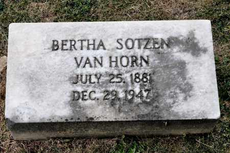 VAN HORN, BERTHA - Richland County, Ohio | BERTHA VAN HORN - Ohio Gravestone Photos