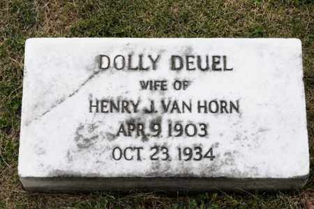 DEUEL VAN HORN, DOLLY - Richland County, Ohio | DOLLY DEUEL VAN HORN - Ohio Gravestone Photos