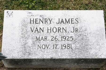 VAN HORN JR, HENRY JAMES - Richland County, Ohio | HENRY JAMES VAN HORN JR - Ohio Gravestone Photos