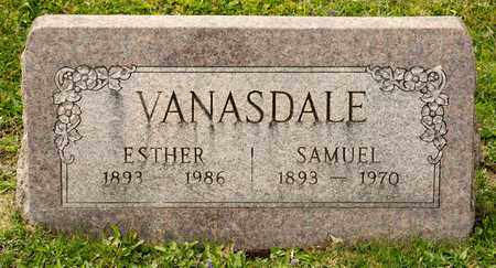 VANASDALE, ESTHER - Richland County, Ohio | ESTHER VANASDALE - Ohio Gravestone Photos