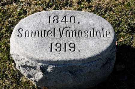 VANASDALE, SAMUEL - Richland County, Ohio | SAMUEL VANASDALE - Ohio Gravestone Photos
