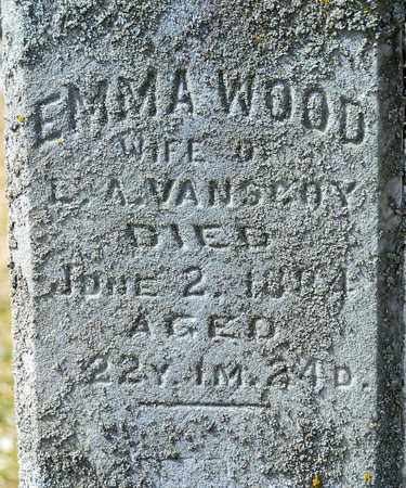 WOOD VANSCOY, EMMA - Richland County, Ohio | EMMA WOOD VANSCOY - Ohio Gravestone Photos