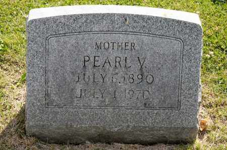VANWAGNER, PEARL V - Richland County, Ohio | PEARL V VANWAGNER - Ohio Gravestone Photos