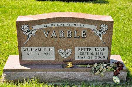 VARBLE, BETTE JANE - Richland County, Ohio | BETTE JANE VARBLE - Ohio Gravestone Photos