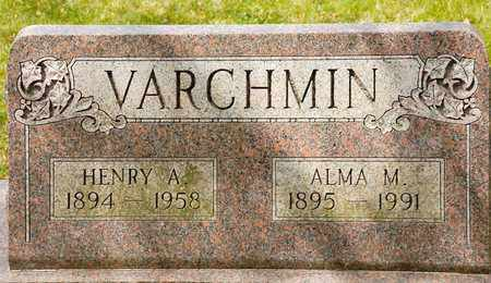 VARCHMIN, ALMA M - Richland County, Ohio | ALMA M VARCHMIN - Ohio Gravestone Photos