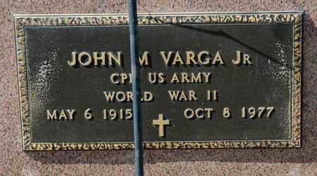 VARGA JR, JOHN M - Richland County, Ohio | JOHN M VARGA JR - Ohio Gravestone Photos