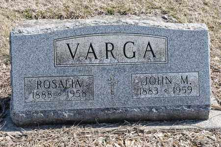 VARGA, ROSALIA - Richland County, Ohio | ROSALIA VARGA - Ohio Gravestone Photos