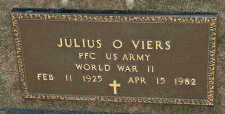 VIERS, JULIUS O - Richland County, Ohio | JULIUS O VIERS - Ohio Gravestone Photos