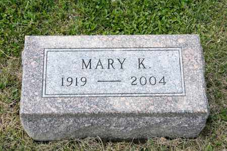VIERS, MARY K - Richland County, Ohio | MARY K VIERS - Ohio Gravestone Photos