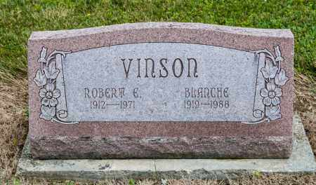 VINSON, ROBERT E - Richland County, Ohio | ROBERT E VINSON - Ohio Gravestone Photos
