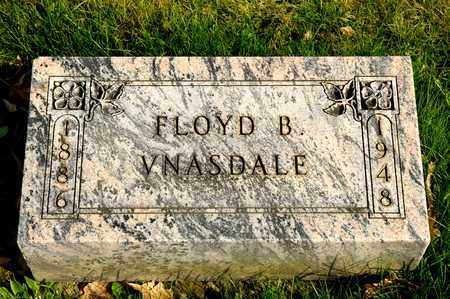 VNASDALE, FLOYD B - Richland County, Ohio | FLOYD B VNASDALE - Ohio Gravestone Photos