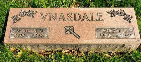 VNASDALE, DONALD E - Richland County, Ohio | DONALD E VNASDALE - Ohio Gravestone Photos