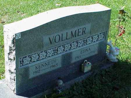 VOLLMER, KENNETH - Richland County, Ohio | KENNETH VOLLMER - Ohio Gravestone Photos