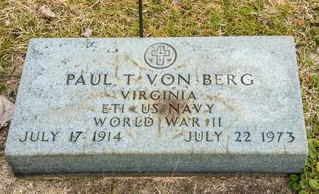 VON BERG, PAUL T - Richland County, Ohio | PAUL T VON BERG - Ohio Gravestone Photos