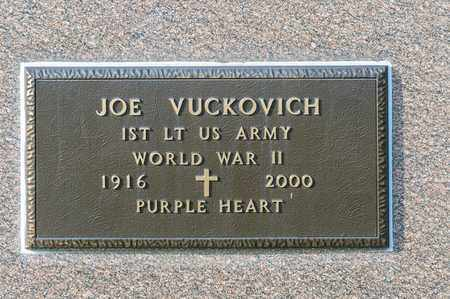 VUCKOVICH, JOE - Richland County, Ohio | JOE VUCKOVICH - Ohio Gravestone Photos