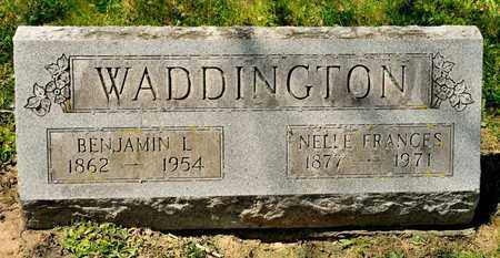 WADDDINGTON, BENJAMIN L - Richland County, Ohio | BENJAMIN L WADDDINGTON - Ohio Gravestone Photos
