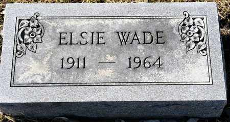 WADE, ELSIE - Richland County, Ohio | ELSIE WADE - Ohio Gravestone Photos