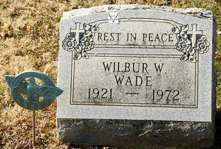 WADE, WILBUR W - Richland County, Ohio | WILBUR W WADE - Ohio Gravestone Photos