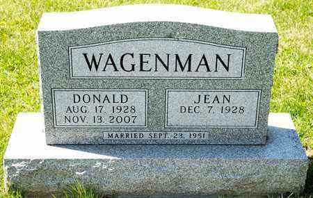 WAGENMAN, DONALD - Richland County, Ohio | DONALD WAGENMAN - Ohio Gravestone Photos